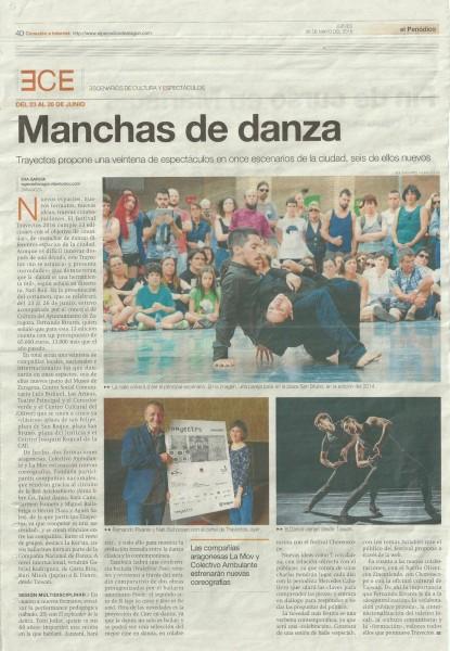 Periódico de Aragón 26 de mayo 2016