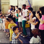 41. Primero y quinto de primaria CEIP Luis Vives