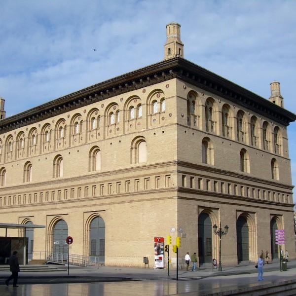 Lonja de Zaragoza. Foto Wikimedia.