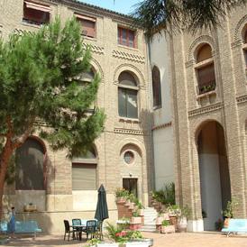 Casa de Amparo. Foto archivo Aragón Digital.