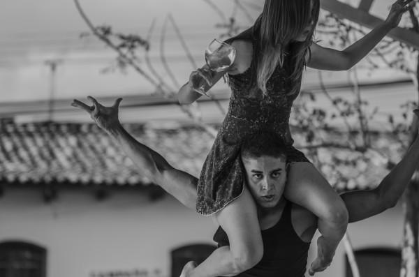 SoloDos en Danza. Foto Pablo Vargas.