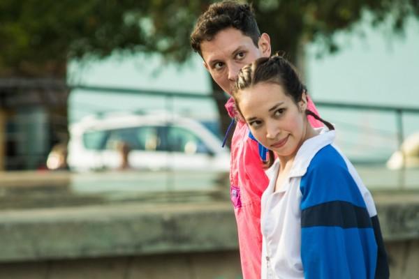 Carla Segovia y Guillermo Aguilar. Foto Pablo Vargas.